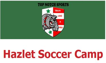 Top Notch Summer Camp featuring RJ Allen of NYC FC at the HUSA Complex July 11th - 14th